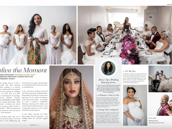 Felicia Graham Beauty Featured in Munaluchi Summer Issue