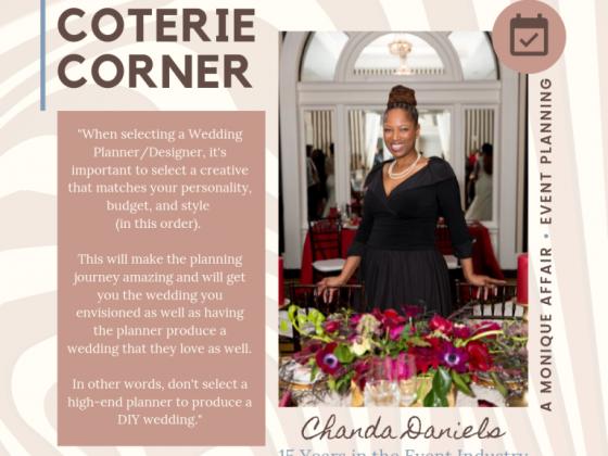 MunaCoterie's Coterie Corner Featuring Chanda Daniels