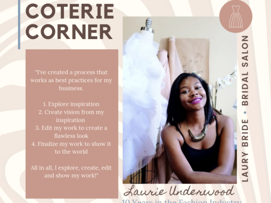 MunaCoterie's Coterie Corner Featuring Laurie Underwood