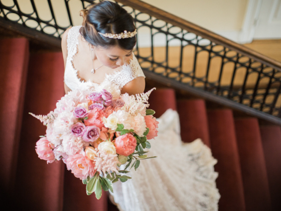 Bride at Josephine Butler Center