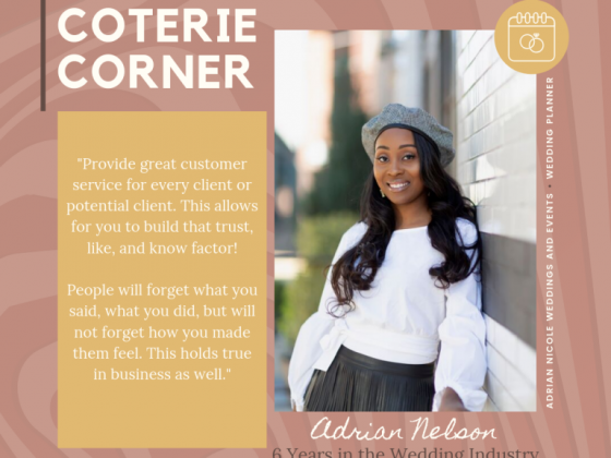 MunaCoterie's Coterie Corner Featuring Adrian Nelson